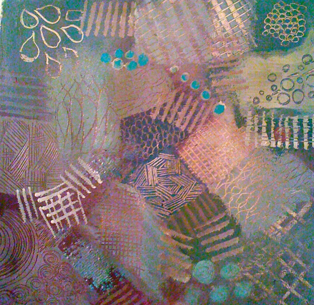 mark making, texture, mixed media