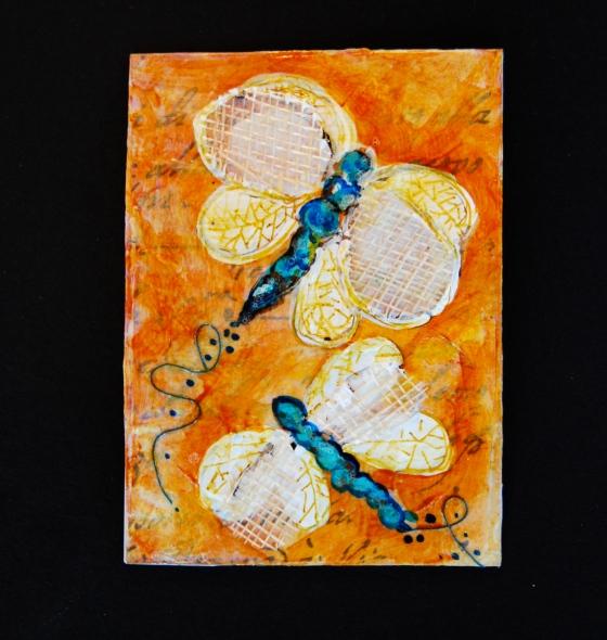artist trading card, atc's , kelly rae roberts