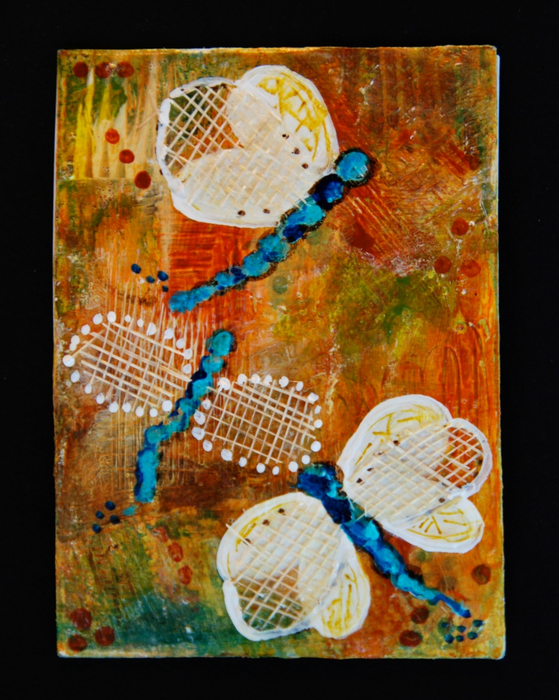 artist trading cards, ATC, kelly rae roberts