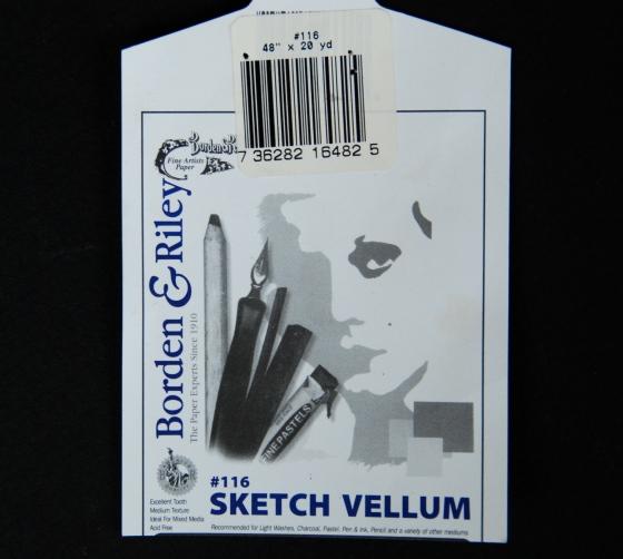 Borden and Riley, sketch vellum