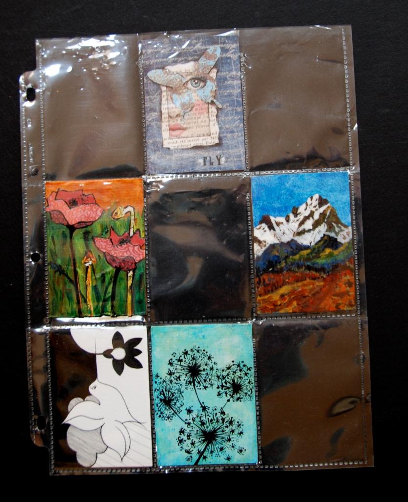 artist trading cards, ATC