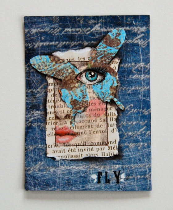 artist trading cards, ATC