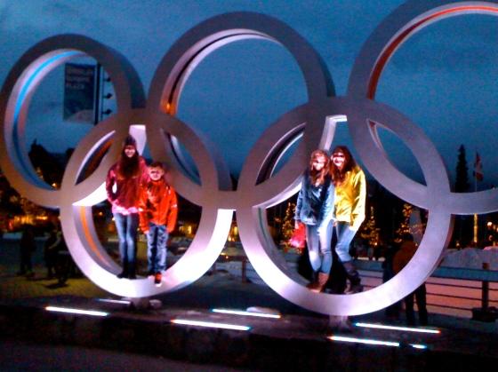olympic rings,whistler,2010