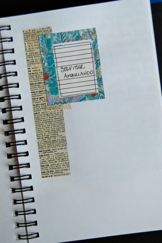 2012 art journal