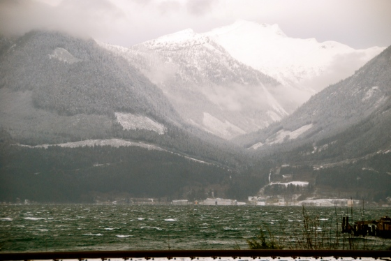 porteau cove, sea to sky highway, whistler, winter