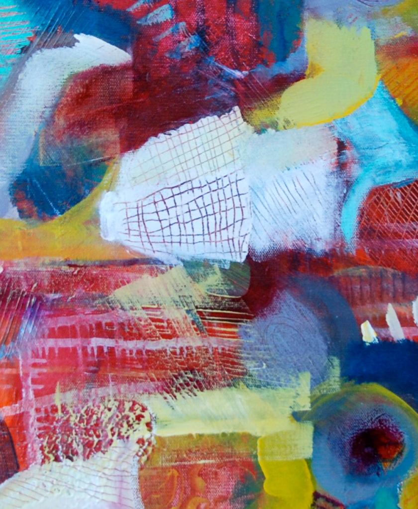 intuitive painting, workshop, flora bowley