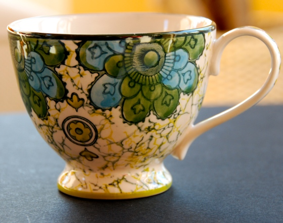 Anthropologie, teacup,inspiration