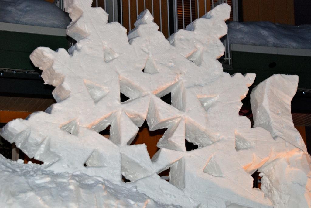 Silverstar Mountain, ski village, Vernon B.C. Ice sculptures
