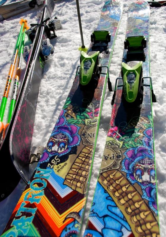 Silverstar Mountain, ski village, Vernon B.C. Nordica ski
