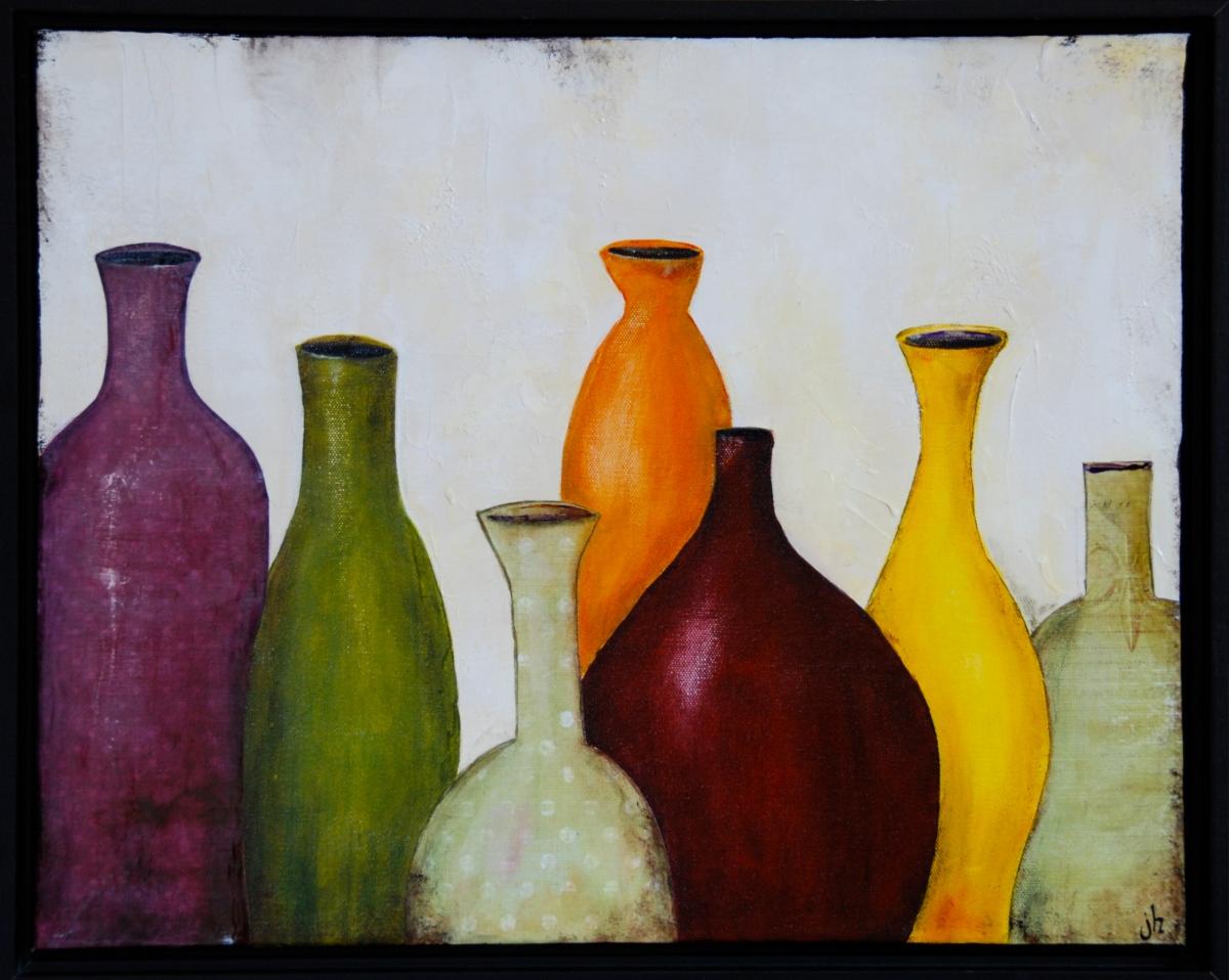 mixed media, acrylic paint, collage, art, earthtoned,