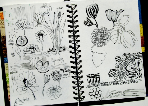 art, journal, doodle,