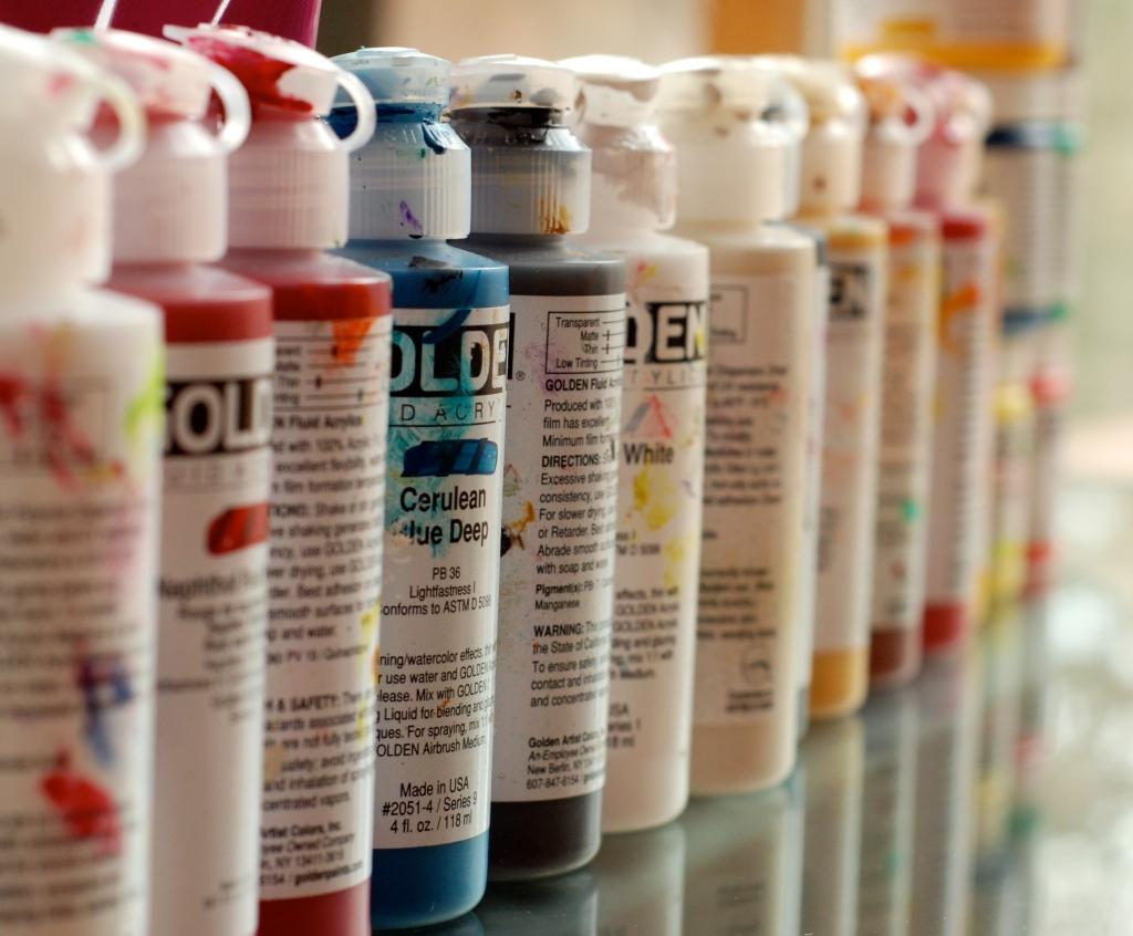 golden fluid acrylics, paint, color