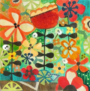 Tangled Weave - Julie Hamilton Designs {artistically afflicted blog}