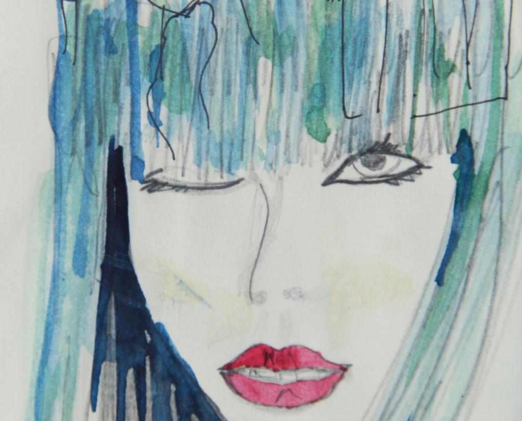 creative process, visual journal, art, watercolor