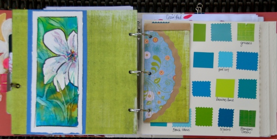 creative process, visual journal, art