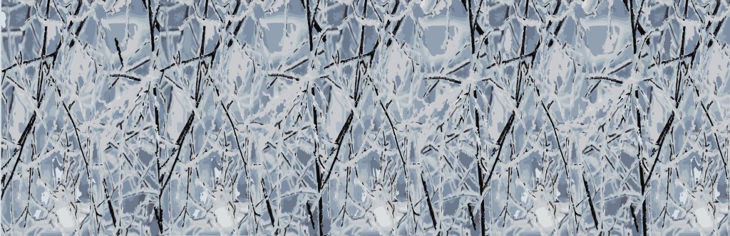 surface pattern design, Whistler, julie hamilton, winter trees