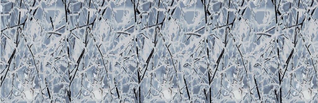 surface pattern design, Whistler, julie hamilton, winter trees
