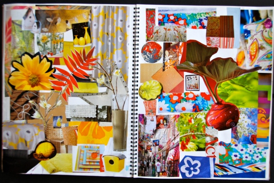 inspiration, art journal