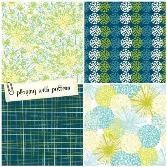 surface pattern design, julie hamilton