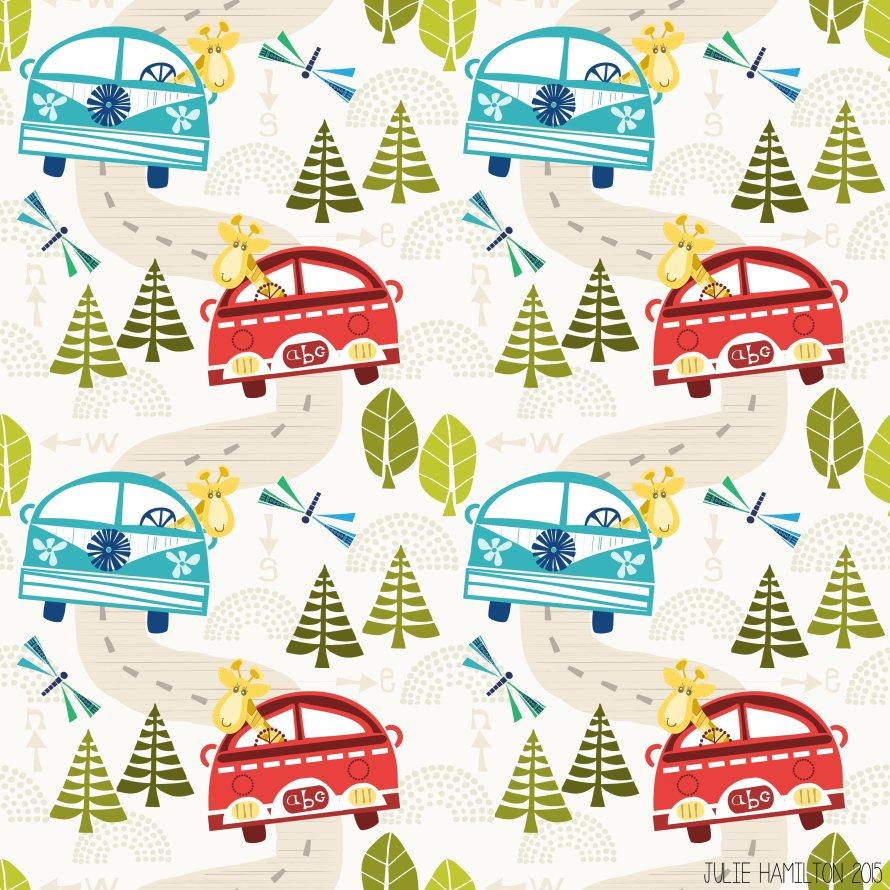 Giraffe Roadtrip - Julie Hamilton Creative {artistically afflicted blog}