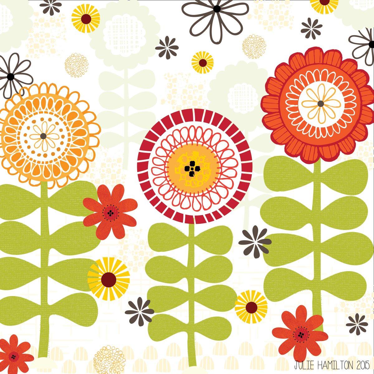 In my Garden - Julie Hamilton Creative {artistically afflicted blog}