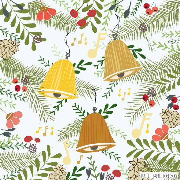 Christmas Bells - Julie Hamilton Creative {artistically afflicted blog}