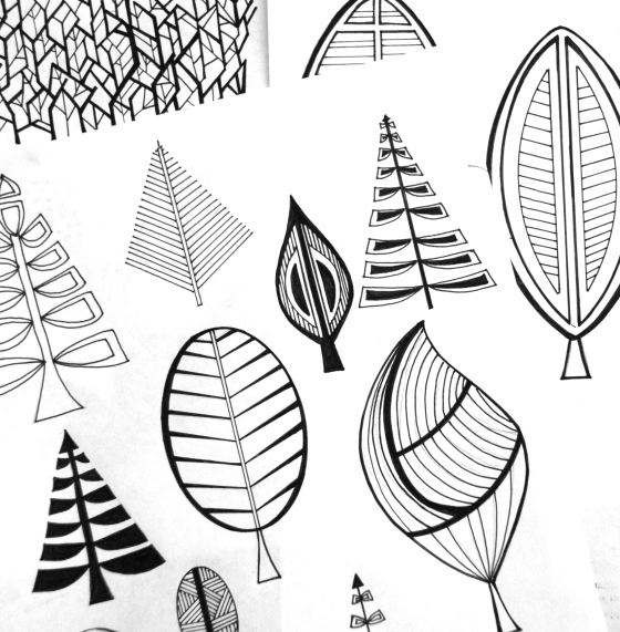 ink,tree,