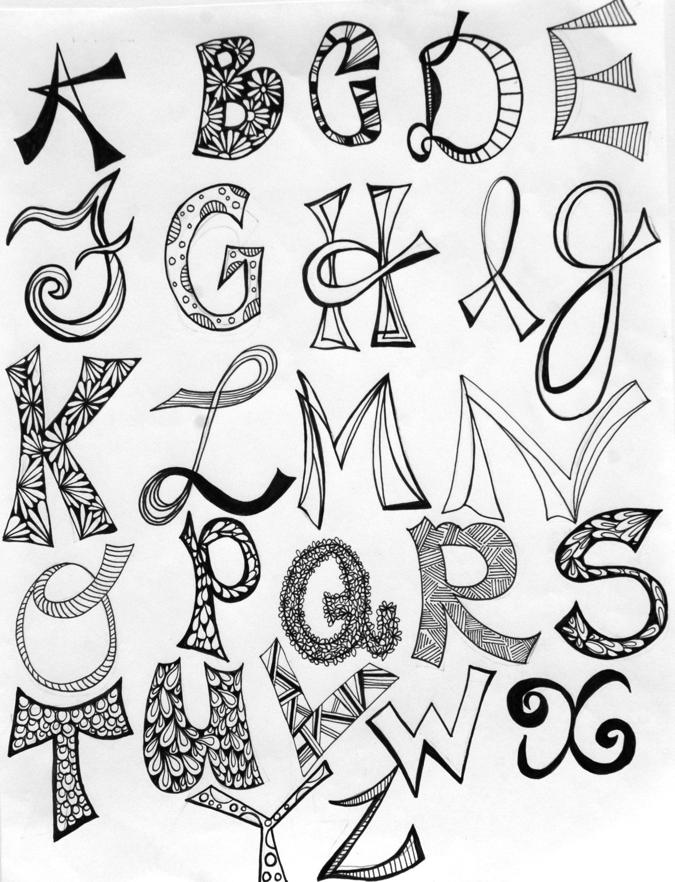 Go Back  gt  Images For  gt  Pretty Alphabet Letters To DrawPretty Alphabet Letters To Draw