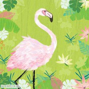 Flamingo - Julie Hamilton {artistically afflicted blog}
