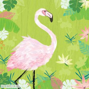 Flamingo - Julie Hamilton {artistically afflicted blog}