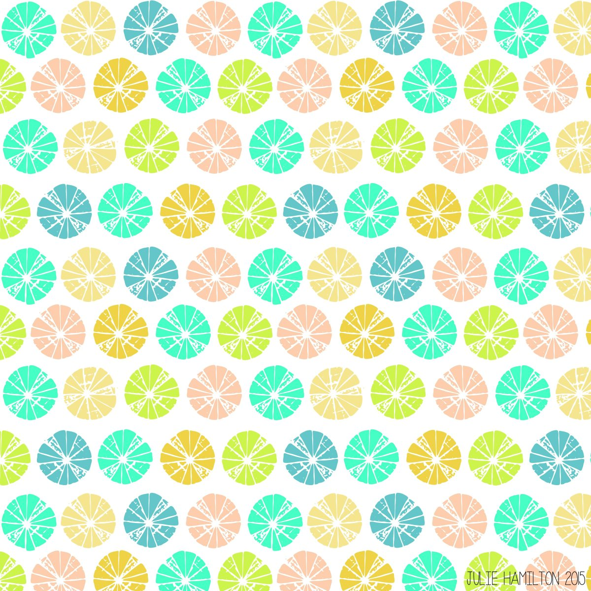 Pineapple Pattern - Julie Hamilton Creative {artistically afflicted blog}