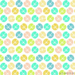 Pineapple Pattern - Julie Hamilton Creative {artistically afflicted blog}