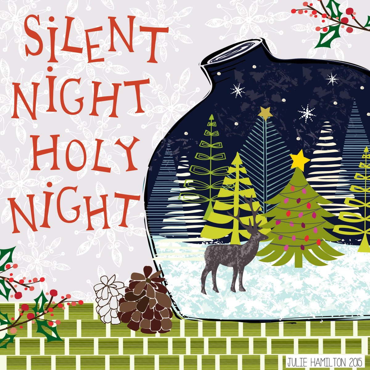 Silent Night - Julie Hamilton Creative {artistically afflicted blog}