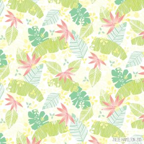 Tropical Floral - Julie Hamilton {artistically afflicted blog}