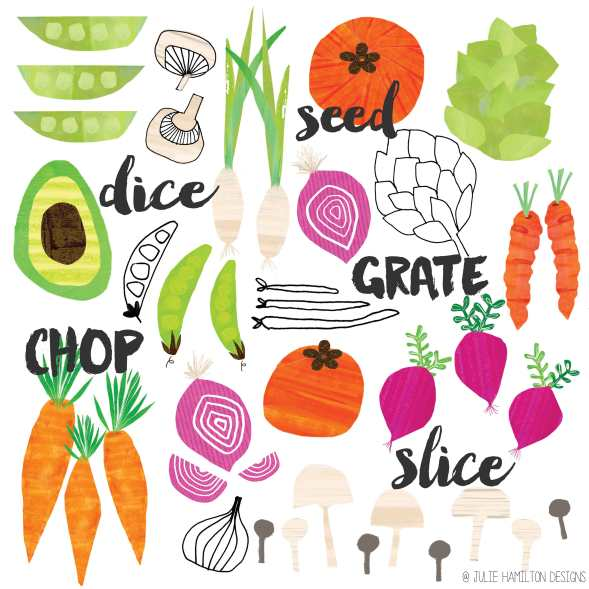 Grate,Dice,Chop & Slice - Julie Hamilton Creative {artistically afflicted blog}