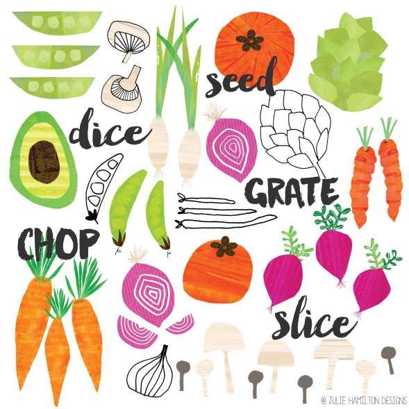 Grate,Dice,Chop & Slice - Julie Hamilton Creative {artistically afflicted blog}