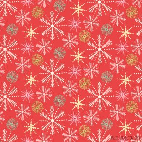 Vintage Christmas Snowflakes - Julie Hamilton Creative {artistically afflicted blog}