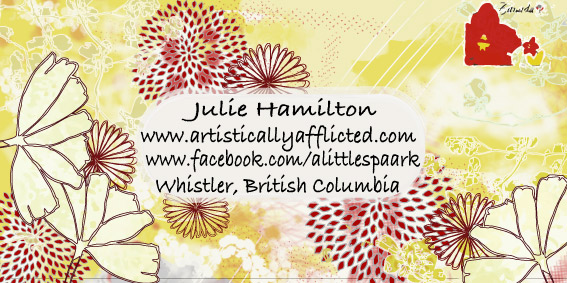 julie hamilton, surface pattern design, artistically afflicted