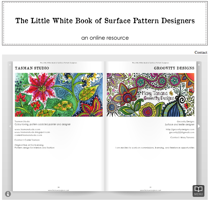 julie hamilton, surface pattern design