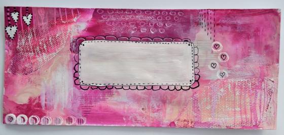 artistically afflicted blog,julie hamilton