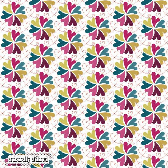 artistically afflicted, julie hamilton,surface pattern design