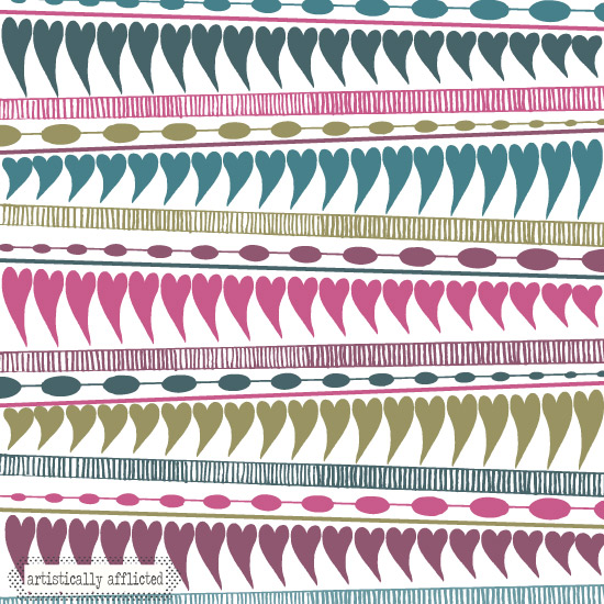 artistically afflicted, julie hamilton,surface pattern design