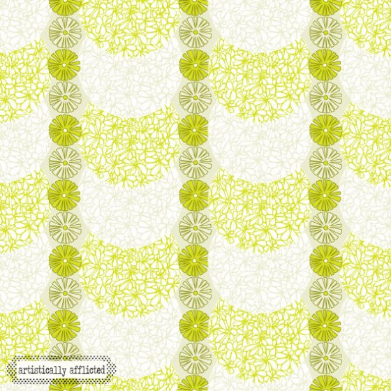 artistically afflicted, surface pattern design