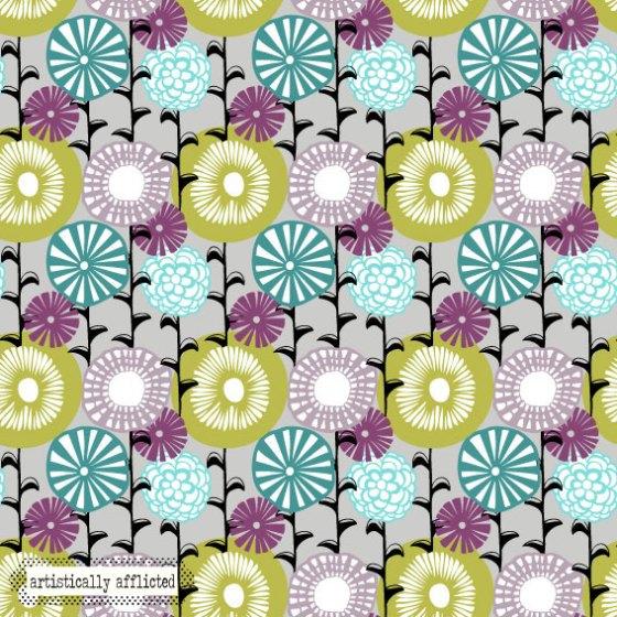 artistically afflicted blog, julie hamilton designs