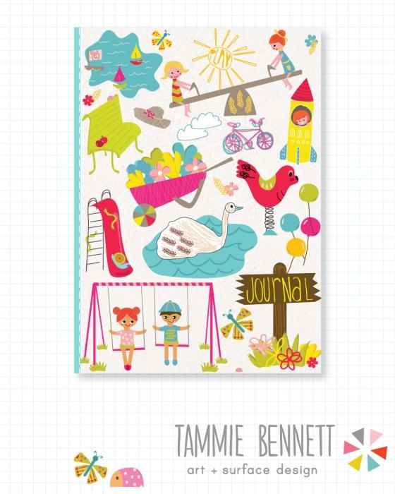 julie hamilton designs on {artistically afflicted} blog