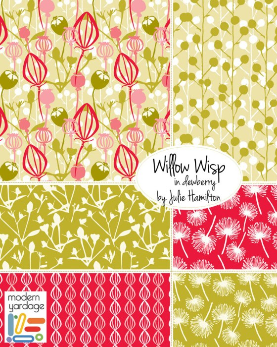 julie hamilton designs, modern yardage fabric