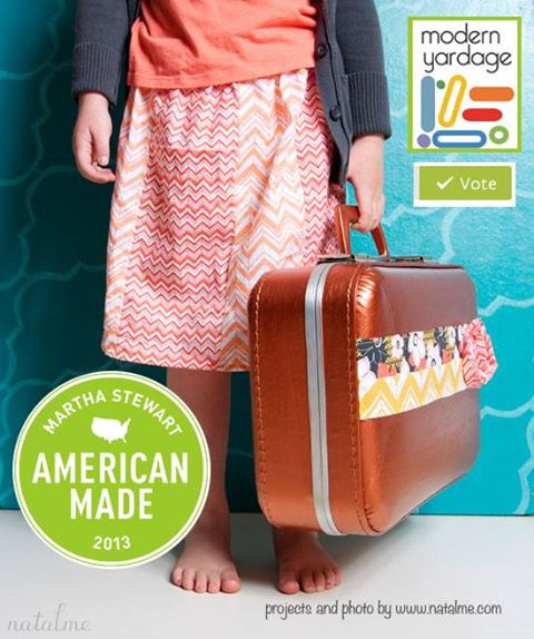 Modern yardage in the American Made contest
