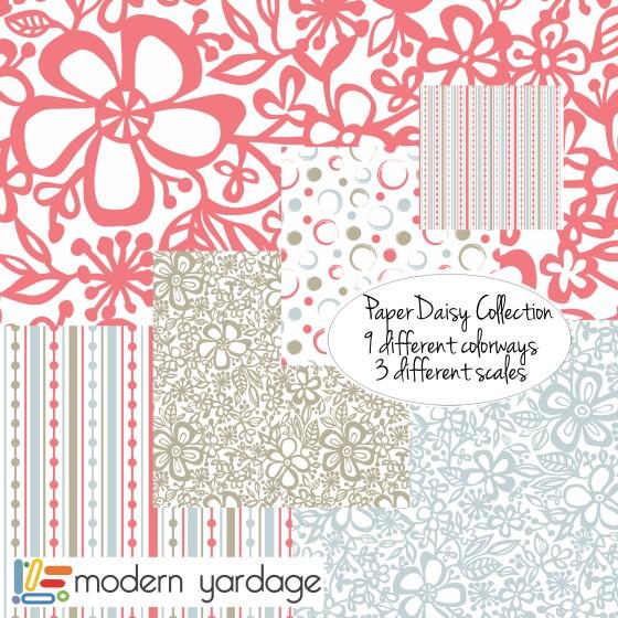 julie hamilton designs for Modern Yardage