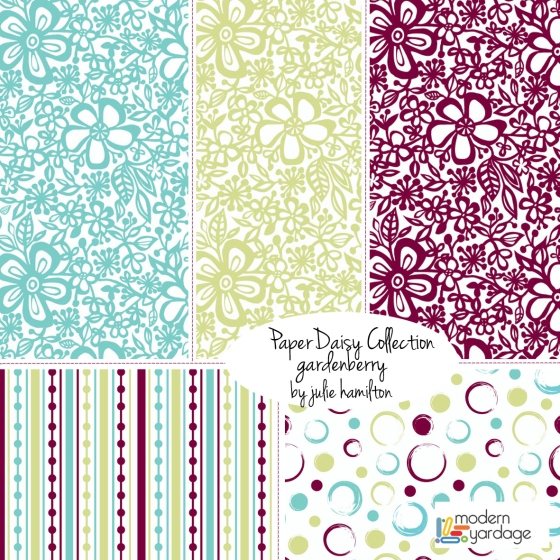 julie hamilton designs for Modern Yardage