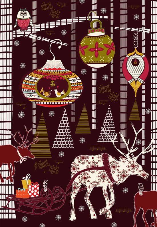 Christmas Inspiration ~ julie hamilton designs {artistically afflicted} blog
